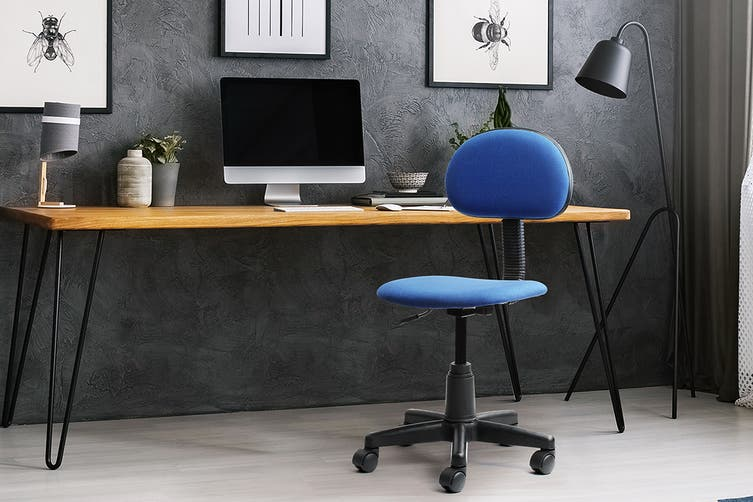 Ergolux Basic Office Chair (Navy)