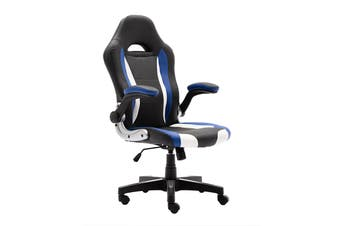 Ergolux Phoenix Gaming Chair (Black/Blue)
