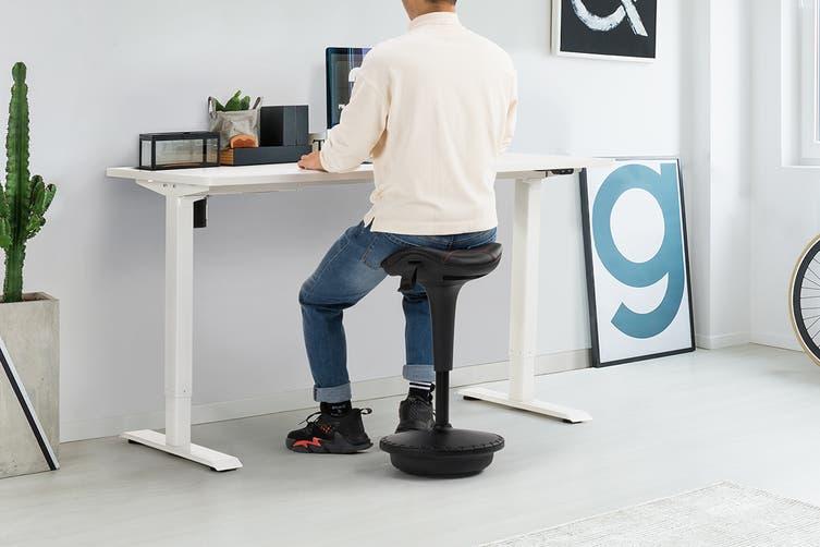 Ergolux Disco Pro Standing Stool Black