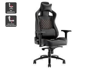 Ergolux Subzero Quilted Premium Gaming Chair (Black)