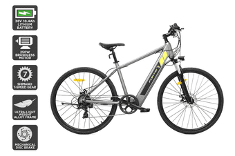 Fortis 700C 36V 10Ah Hybrid Commuter Electric Mountain Bike