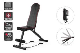 Fortis Adjustable FID Sit Up & Weight Bench