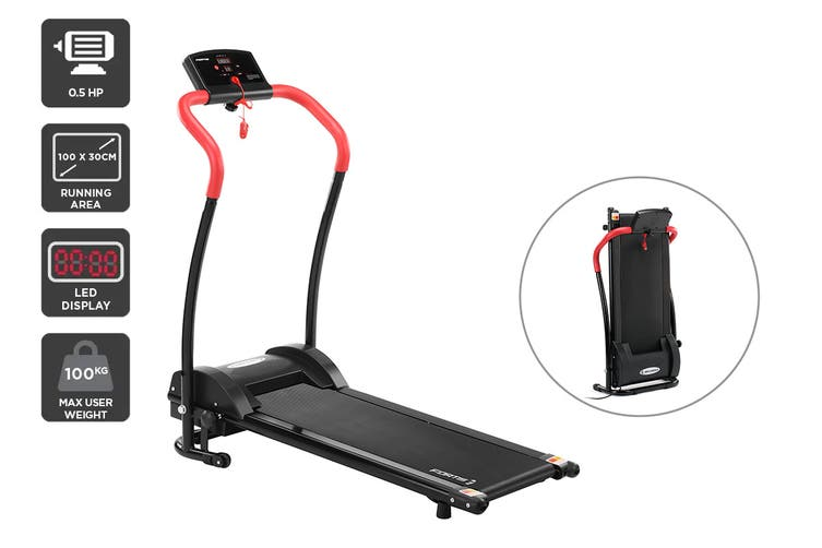 Fortis 300mm Belt Electric Foldable Treadmill