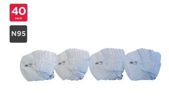 AP Mascarillas N95 Particulate Respirator Mask (40 Pack)