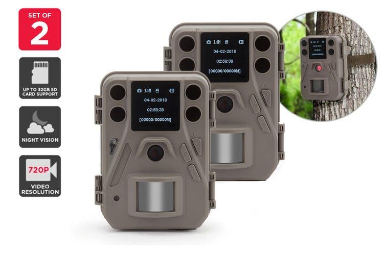 Kogan 14MP Trail Camera (2 Pack)