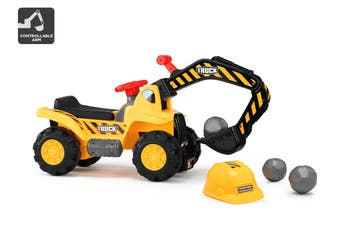 Kids Ride-On Digger