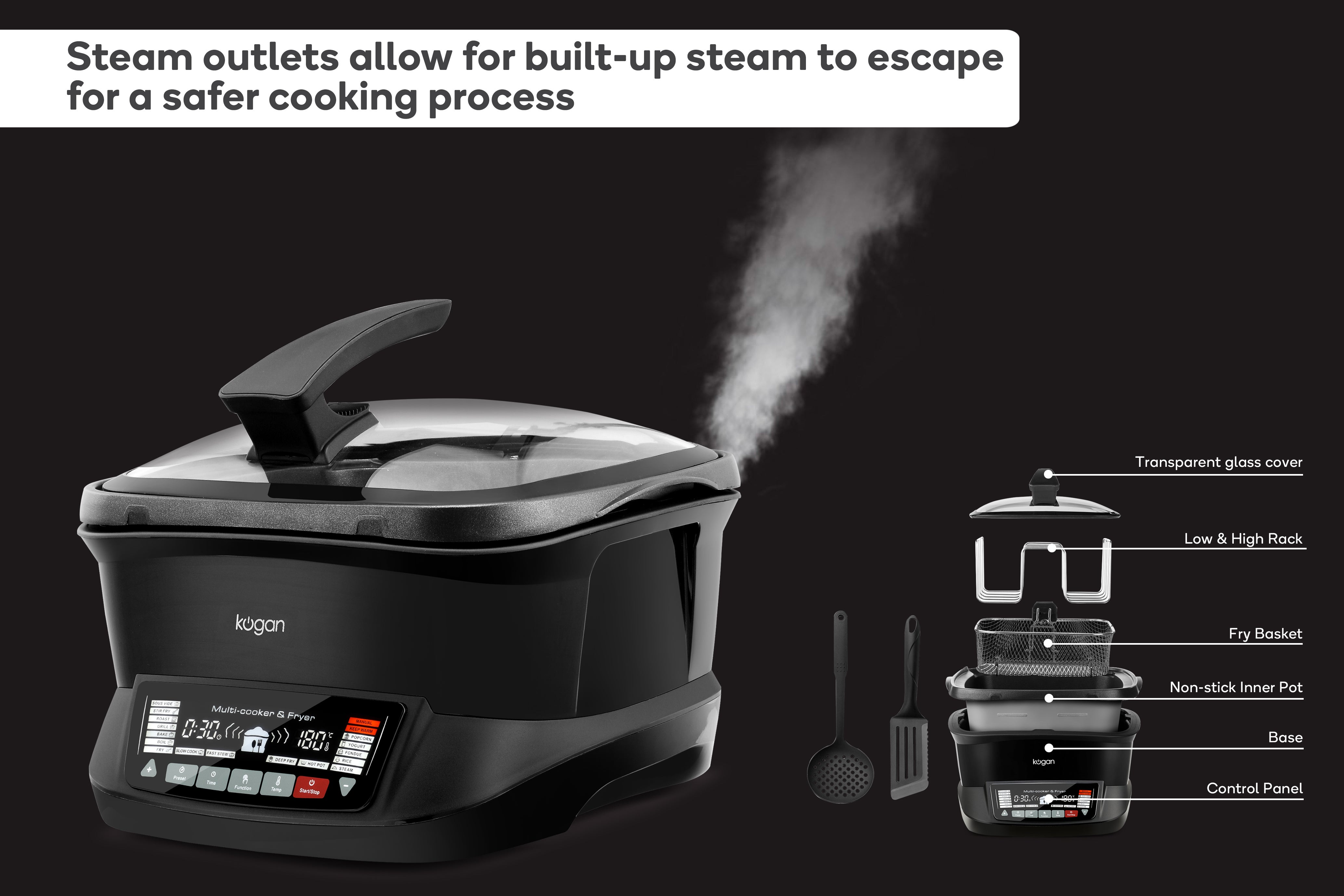 Steam Outlets