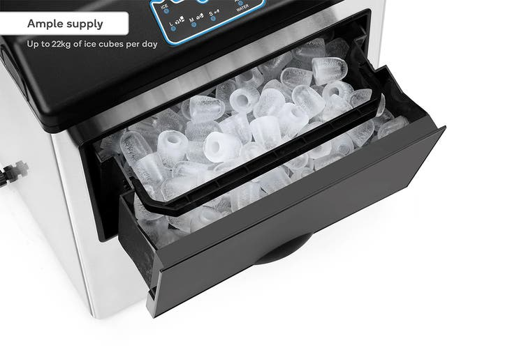 Kogan 2-in-1 Commercial Ice Cube Maker and Water Dispenser