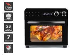 Kogan 23L 1700W Digital Air Fryer Oven (Black)