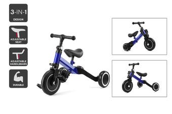3-in-1 Trike & Balance Bike (Blue)
