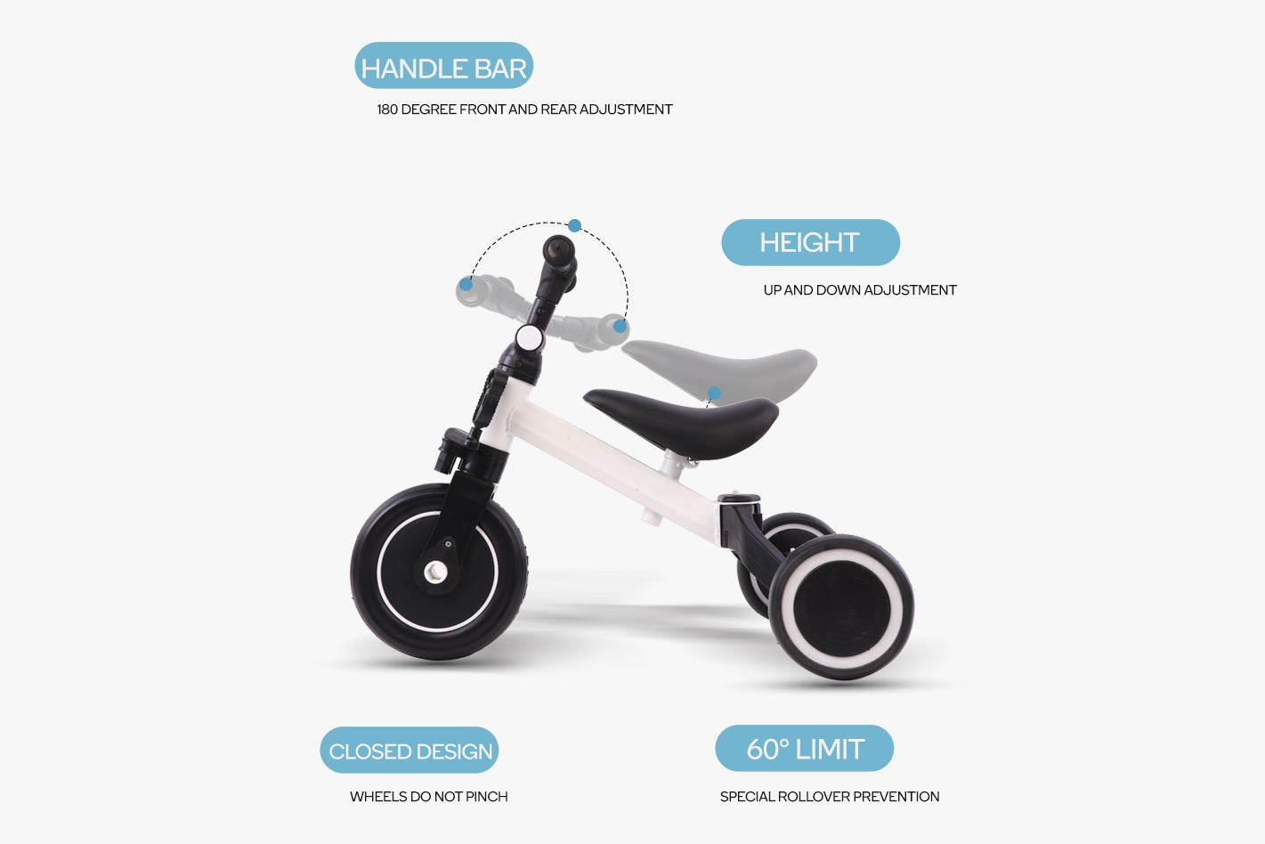 Benefits of the balance bike