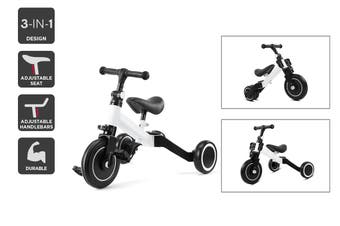 3-in-1 Trike & Balance Bike (White)