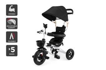 6-in-1 Baby Walker & Trike (Black)