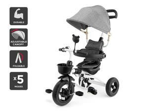 6-in-1 Baby Walker & Trike (Grey)