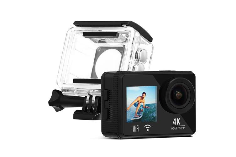 Kogan 4k Dual Screen Action Camera