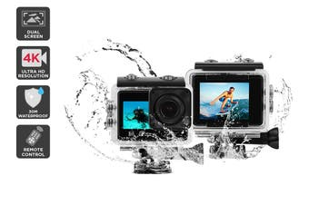 Kogan 4k Dual Screen Action Camera