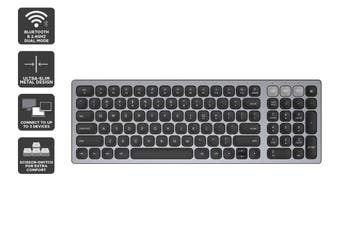 Kogan Bluetooth & 2.4Ghz Dual Mode Wireless Keyboard (Space Grey)