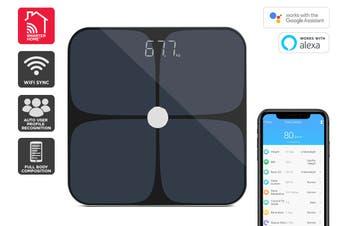 Kogan SmarterHome™ Smart Scale & Body Analyser (Black)
