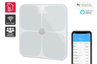 Kogan SmarterHome™ Smart Scale & Body Analyser (White)