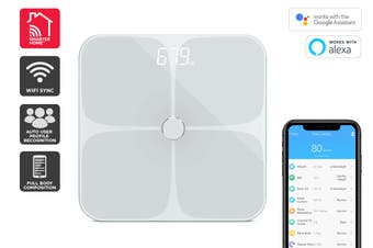 Kogan SmarterHome™ Smart Scale & Body Analyser (White)