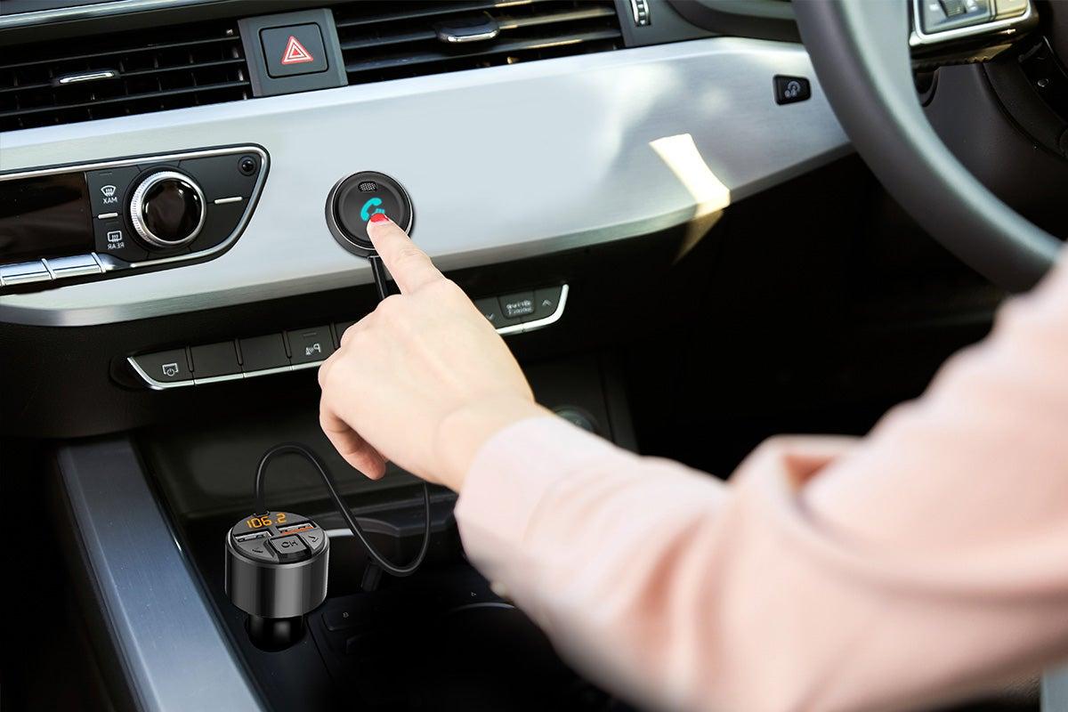 Stream music in car