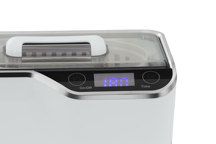 Kogan Ultrasonic Jewellery Cleaner with Touch Panel (600ml)