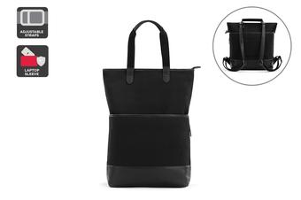 Regal Convertible Backpack (Black)