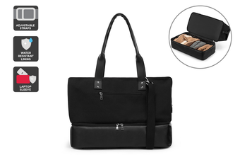 Contemporary Carry-All Bag (Black)