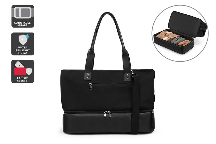 Contemporary Carry-All Bag (Black)
