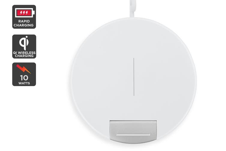 Kogan Convertible Wireless Fast Charger (White)