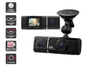Kogan D6 Dual Lens Dash Cam Recorder