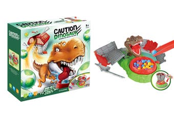 Caution Dinosaur Board Game