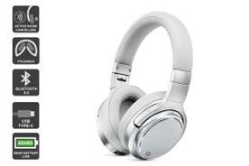 Kogan EC-65 II Pro Active Noise Cancelling Headphones (Silver Grey)