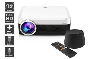 Kogan 3800 Lumens Full HD Projector (F500) + Foxtel Now Box (Netflix Compatible)