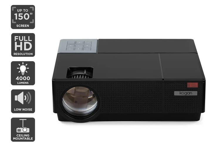 Kogan 4000 Lumens Full HD Projector (F600)