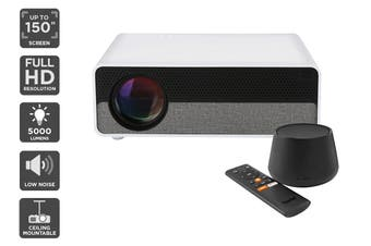 Kogan 5000 Lumens Full HD Projector (F800) + Foxtel Now Box (Netflix Compatible)