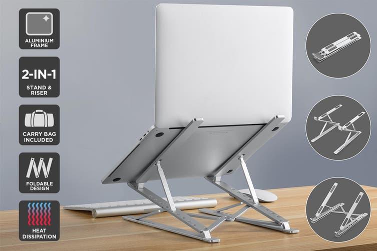 Kogan Aluminium Foldable & Portable Laptop Stand & Riser