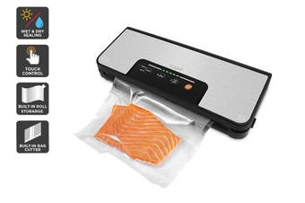 Kogan Food Vacuum Sealer with Built-In Roll Storage