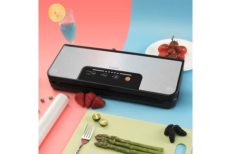 Kogan Food Vacuum Sealer with Built-In Roll Storage