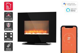 Kogan SmarterHome™ 2000W Multi-Colour Flame Effect Smart Heater