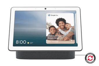 Google Nest Hub Max (Charcoal) - Refurbished