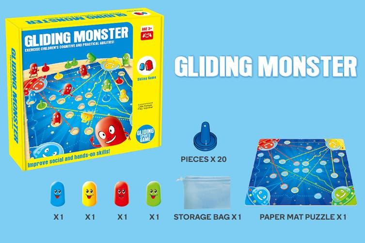 Gliding Monster Board Game