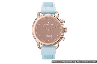 Silicone Strap for Kogan Hybrid+ Smart Watch (Frost Blue)