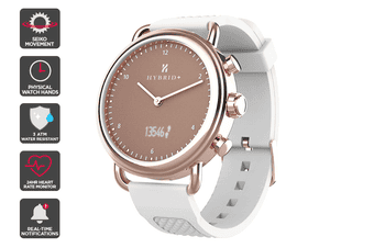 Kogan Hybrid+ Smart Watch (Arctic White)