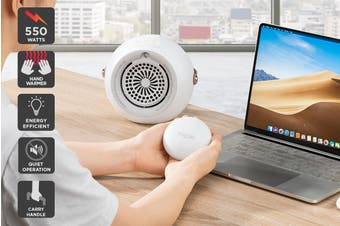 Kogan 4-in-1 Mini Fan Heater and Hand Warmer