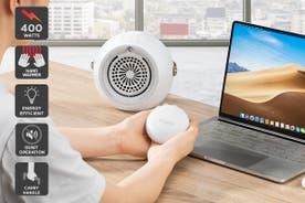 Kogan 4-in-1 Mini Fan Heater and Hand Warmer
