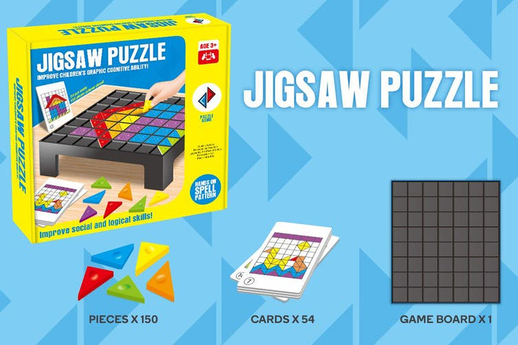 Jigsaw Puzzle Board Game