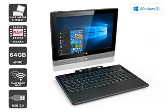 "Kogan Atlas 10.1"" 2-in-1 D500 Touchscreen Laptop"