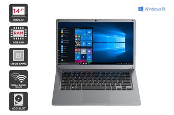 "Kogan Atlas 14.1"" N550 Laptop (8GB, 128GB)"