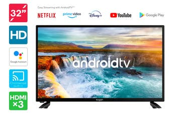 "Kogan 32"" Smart LED TV Android TV™ (Series 9, RH9000)"
